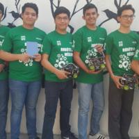 Estos jóvenes de Jalisco representarán a México en la RoboCup 2017 en tres diferentes pruebas de robótica