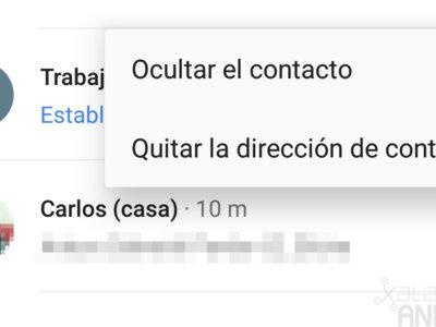 Google Maps para Android ahora te muestra las direcciones de tus contactos