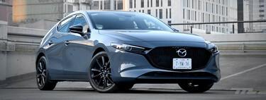 Mazda 3 Turbo, probado: rápido, conveniente y preciso, pero no de alta calidad (+ video)