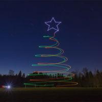 Llega el Light Painting con drones