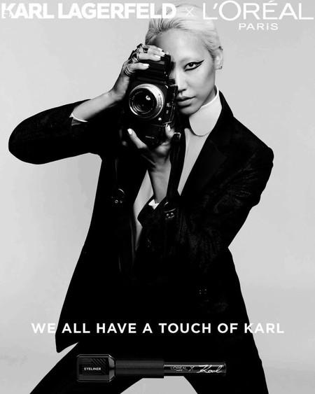 Loreal Paris Karl Lagerfeld Makeup Campaign02