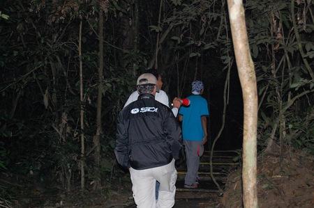 Visitando Malasia, ruta nocturna por Taman Negara