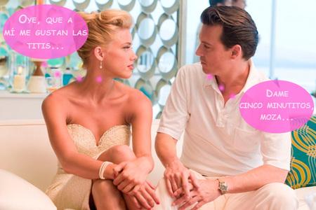"""Johnny Depp le cambia los gustos a Amber Heard: mami qué será lo que tiene """"er Johnny""""..."""