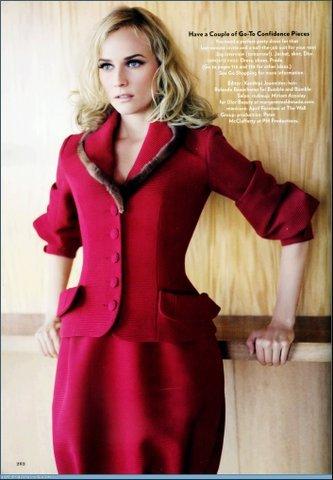 Diane Kruger en la revista Glamour US