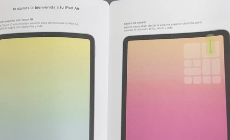 Manual filtrado del iPad Air 4