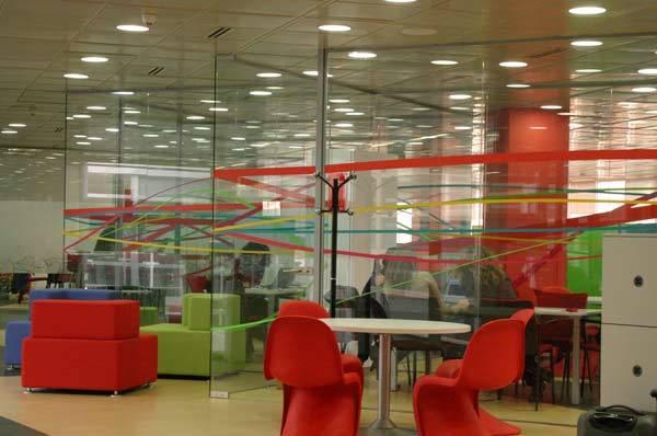Foto de Lugares para trabajar: Las oficinas de Vodafone en Madrid (2/7)