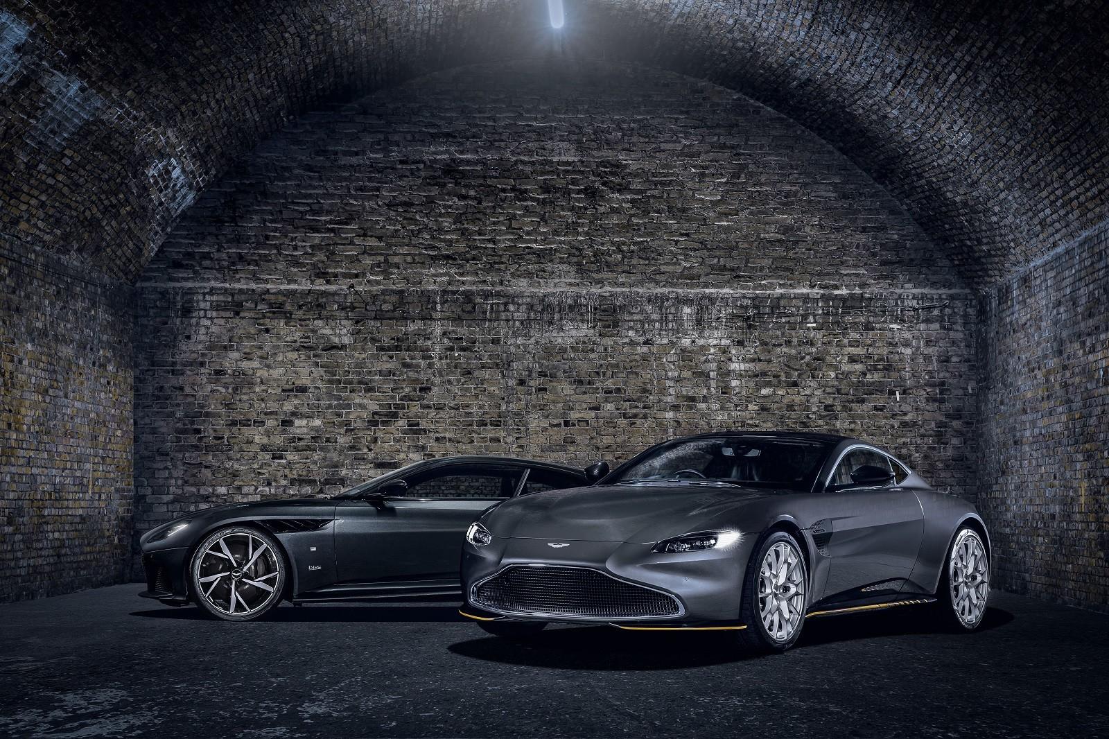 Foto de Aston Martin Vantage y DBS Superleggera 007 Edition (30/39)