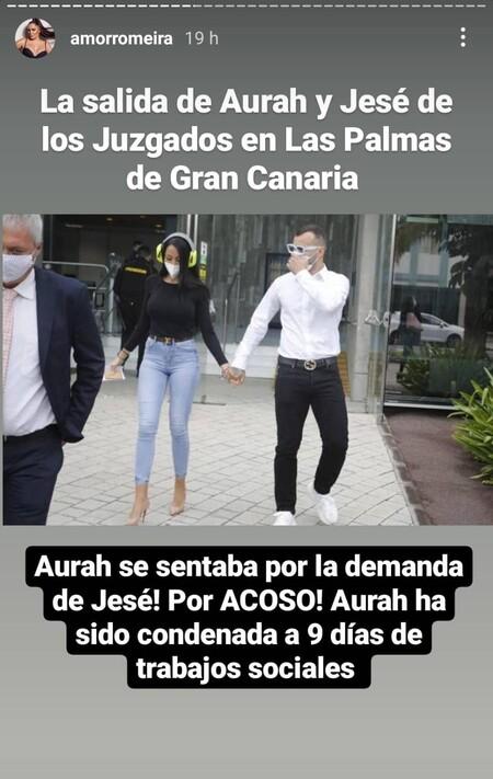 Aurah Ruiz Jese Rodriguez Amor Romeira