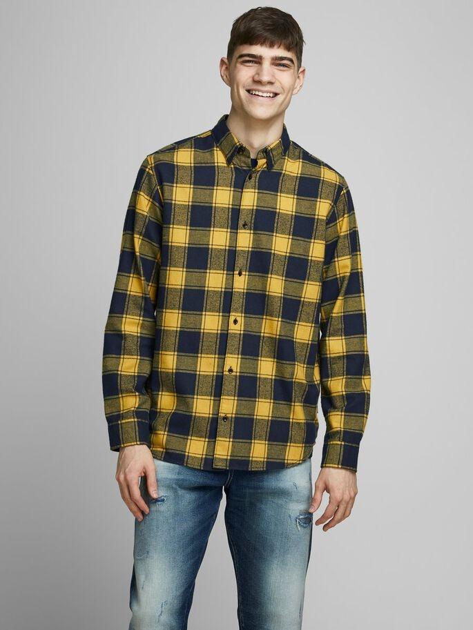 Camisa a cuadros de corte comfort fit