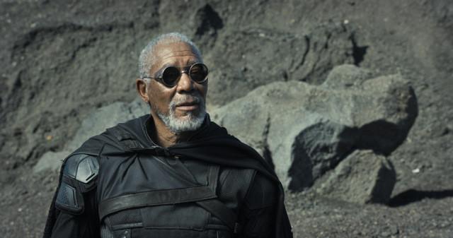 Imagen de Morgan Freeman en 'Oblivion'
