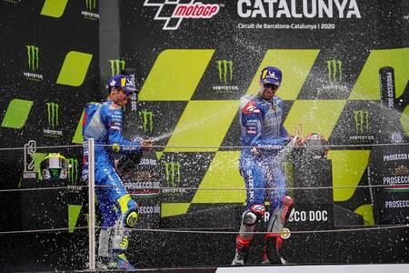 Mir Rins Barcelona Motogp 2020 2