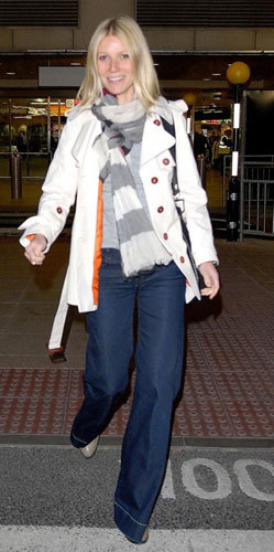 Foto de Gwyneth Paltrow, fan de Burberry (1/5)