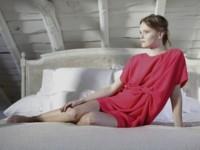 Double Ikkat vestido rojo para bodas