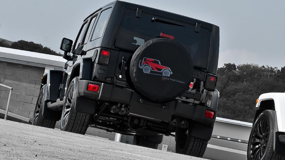 Foto de Kahn Jeep Wrangler Chelsea CJ400 (7/11)