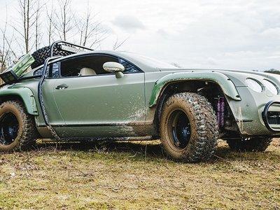 ¿Apocalipsis? ¿Amenaza nuclear? No hay problema, ahora puedes comprarte este Bentley Continental GT preparado para todo