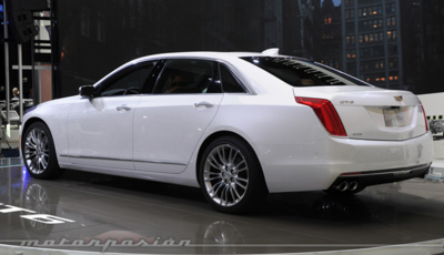 El Cadillac CT6 no se ofrecerá con batalla larga
