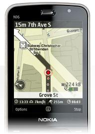 Nokia Maps caminar