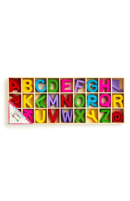 Crafting Coloured Wooden Letters Gbp2 50 Eur3