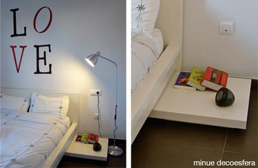 Hazlo tú mismo: una mesita de noche minimalista
