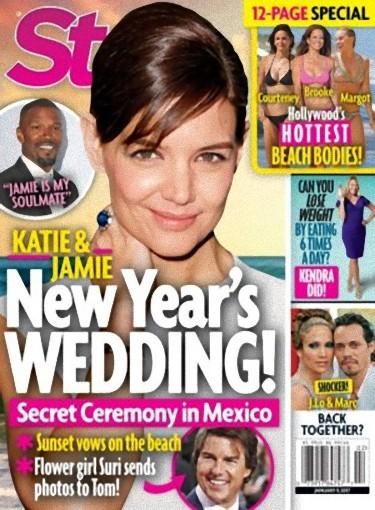 Que nos cuentan que se ha casado Katie Holmes