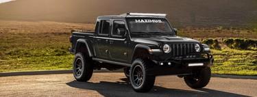 """Este Jeep Gladiator de 1,000 hp es cortesía de Henessey y se llama """"Maximus 1000"""""""