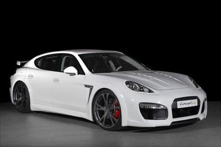 TechArt Concept One, el Porsche Panamera vestido de Stormtrooper