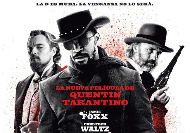 Imagen del cartel de Django Desencadenado