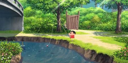 El juego que pudieron ver durante el Nintendo Direct en Japón es el precioso título sobre las vacaciones de Shin-chan