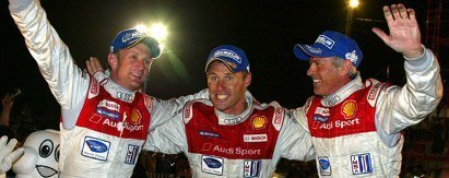El Audi R10 gana en Sebring