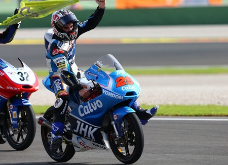 Maverick Vinales Moto3 World Champion2013
