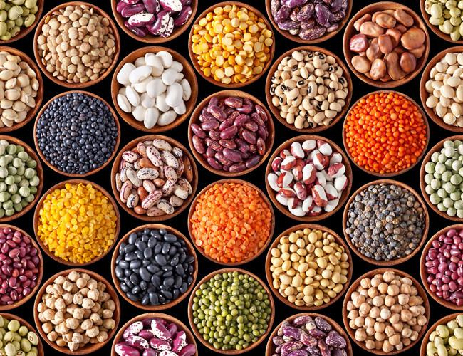 Legumbres: comestible rico en proteínas, fibra y antioxidantes