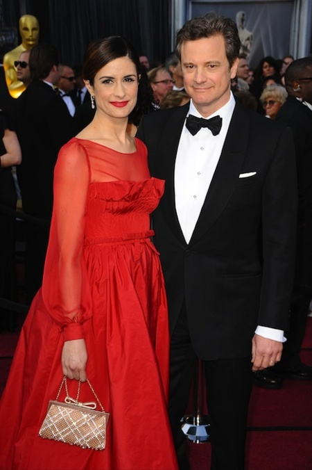 Colin Firth and Producer Livia Giuggioli