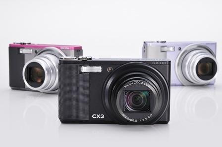 Ricoh CX3 añade la grabación de vídeo y el sensor retroiluminado a sus características