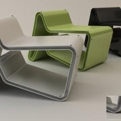 Foto 1 de 4 de la galería tona-chair-mesa-o-silla-segun-la-posicion en Decoesfera