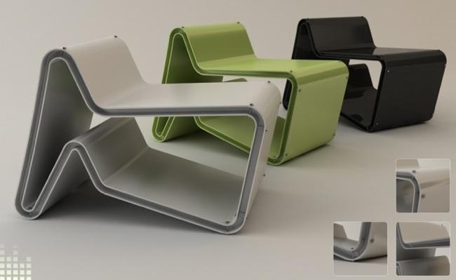 Foto de Tona chair, mesa o silla según la posición (1/4)