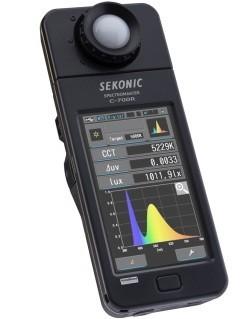Sekonic Spectromaster C-700 y C-700R, el fotómetro para todo