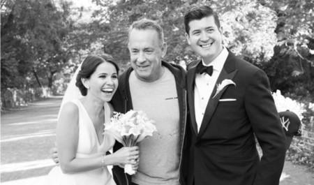 Todas las fotos de boda son especiales, pero, si Tom Hanks aparece por sorpresa... más