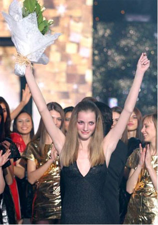 María José Gallego en la final de Elite Model Look: no ha podido ser