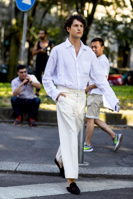 Pantalones Blancos 10