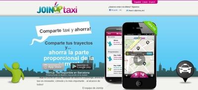 JoinUp Taxi pide y comparte taxi desde tu móvil