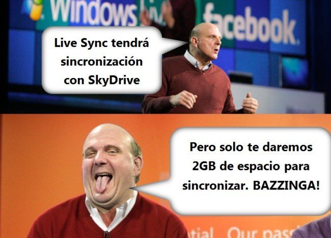 Windows Live Sync BAZZINGA!