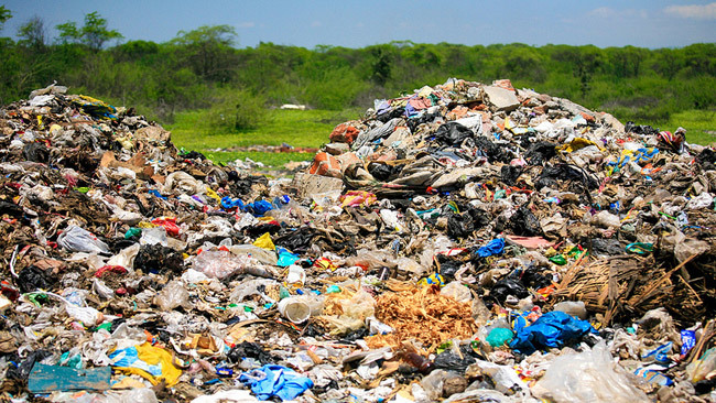 Vertedero de basura