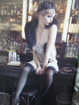 Paris, je t'aime. Vogue EEUU - Septiembre 2007