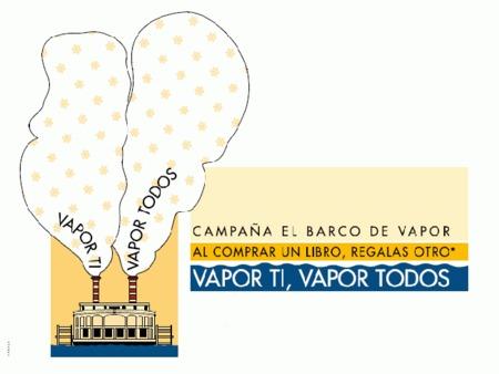 """""""Vapor ti, vapor todos"""", campaña solidaria para que nadie se quede sin libros"""