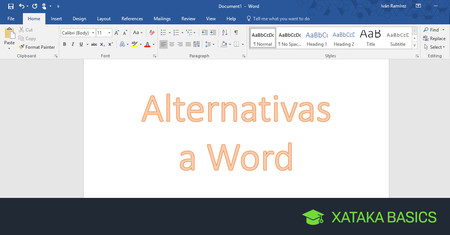 Alternativas gratis a Word para editar y crear documentos