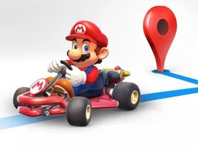 Google Maps añade temporalmente a Mario con su Kart en el GPS con motivo del Día de Mario