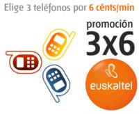 Nuevo módulo de ahorro en Euskaltel: 6 céntimos/minuto a 3 números