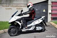 Quadro 350D, prueba (conducción en ciudad y carretera)