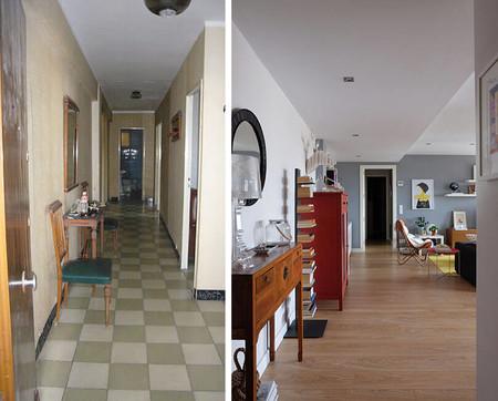 Antes y después de una casa