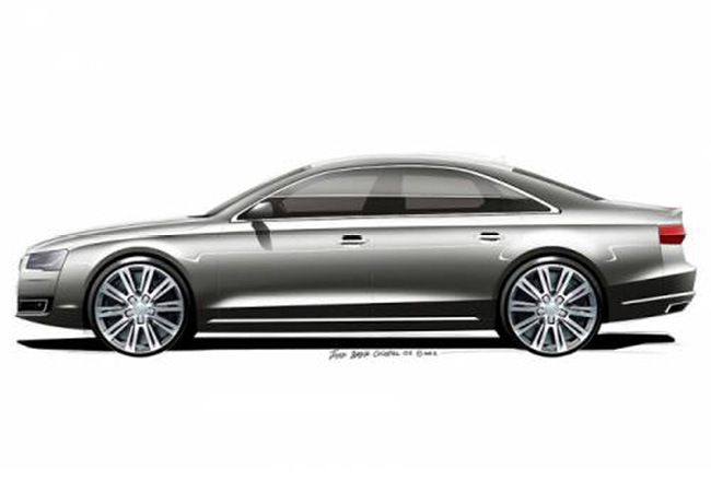 Foto de Audi A8 2015: Primeros bocetos (2/5)